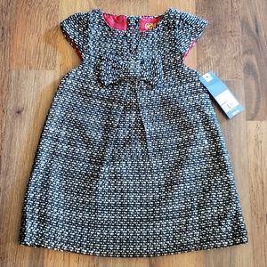 NWT Black & White Dress genuine kids by OshKosh 2T